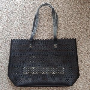 NWT Stella & Dot Avalon Tote - Black